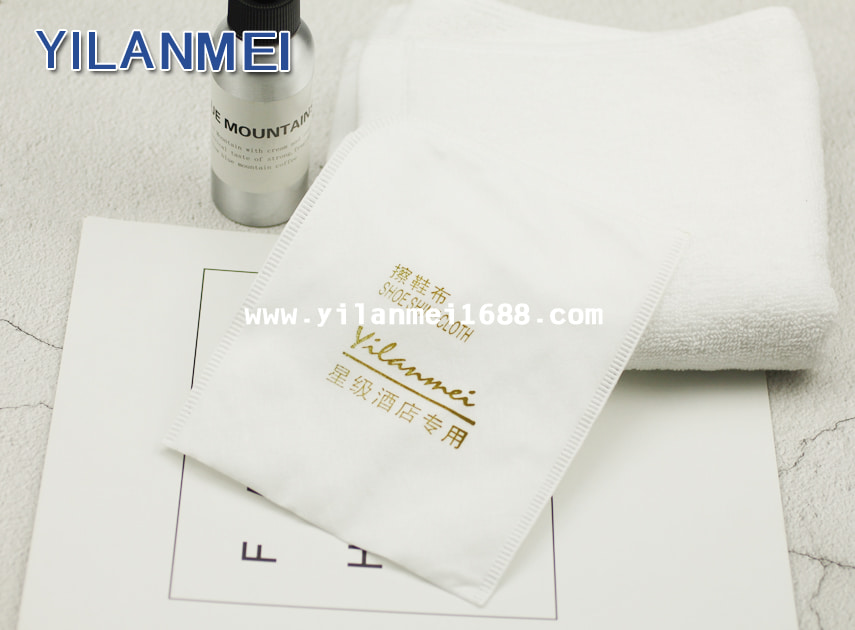 Hotel Shoe Shine Buffing Cloth Supplier
